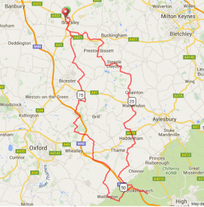 Tour to the Chilterns